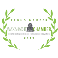 Trust badge from Waxahachie Chamber of Commerce